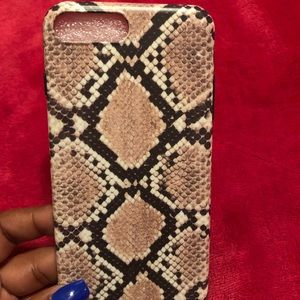 Snakeskin Print IPhone 7/8 Plus Case